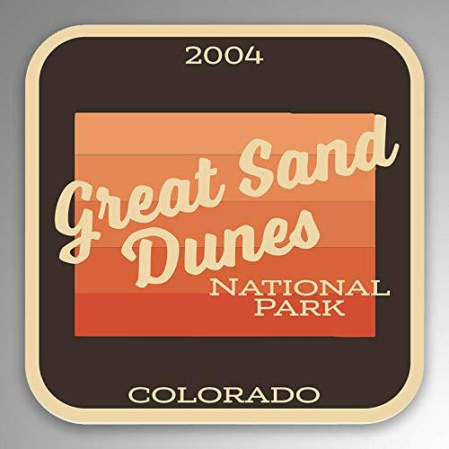 JB Print Great Sand Dunes National Park Vinyl Decal Sticker Car Waterproof Car Decal Bumper Sticker 5