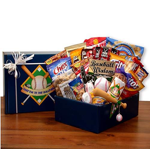 Baseball Fanatic! Baseball Themed Gift Basket