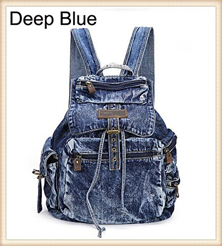 VDK , Damen Schultertasche Blau As Shown in image