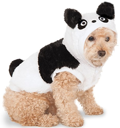 Panda Hoodie for Pet, Medium - Panda Costumes For Dog