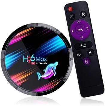 H96 Max X3 Caja De TV Inteligente Android 9,0 Amlogic S905X3 4GB 32GB 64GB Android Tv Caja De H96max 1080P 4K 60Fps Reproductor Multimedia Set Top Box: Amazon.es: Bricolaje y herramientas