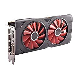 Image of the product XFX RS Black RX 570 OC that is listed on the catalogue brand of XFX.