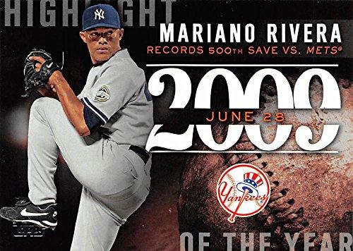 2015 Topps Highlight of the Year #H-59 Mariano Rivera Yankees Baseball Card ()