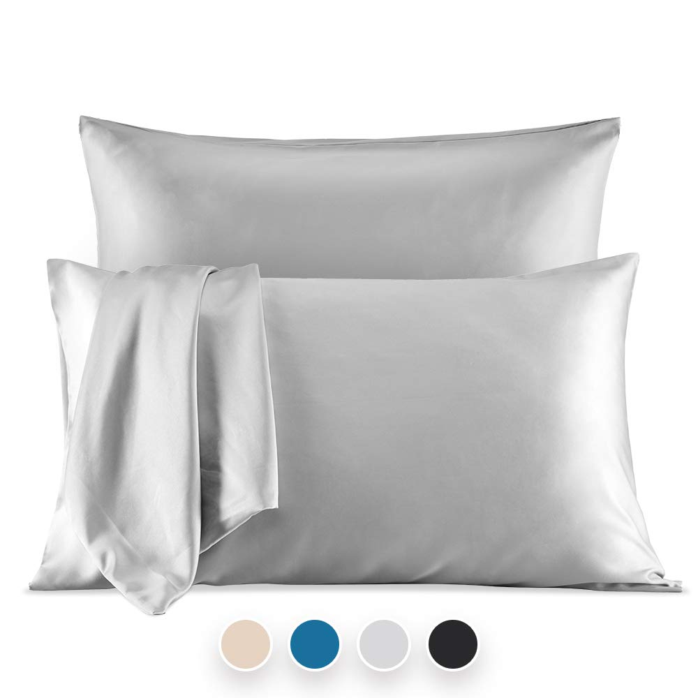 Satin pillowcases are the best