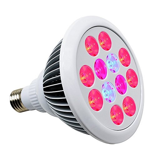 24W LED Grow Light, Litlove Full Spectrum E27 Plant Grow Lamp Indoor Plant For Garden Greenhouse and Hydroponic.
