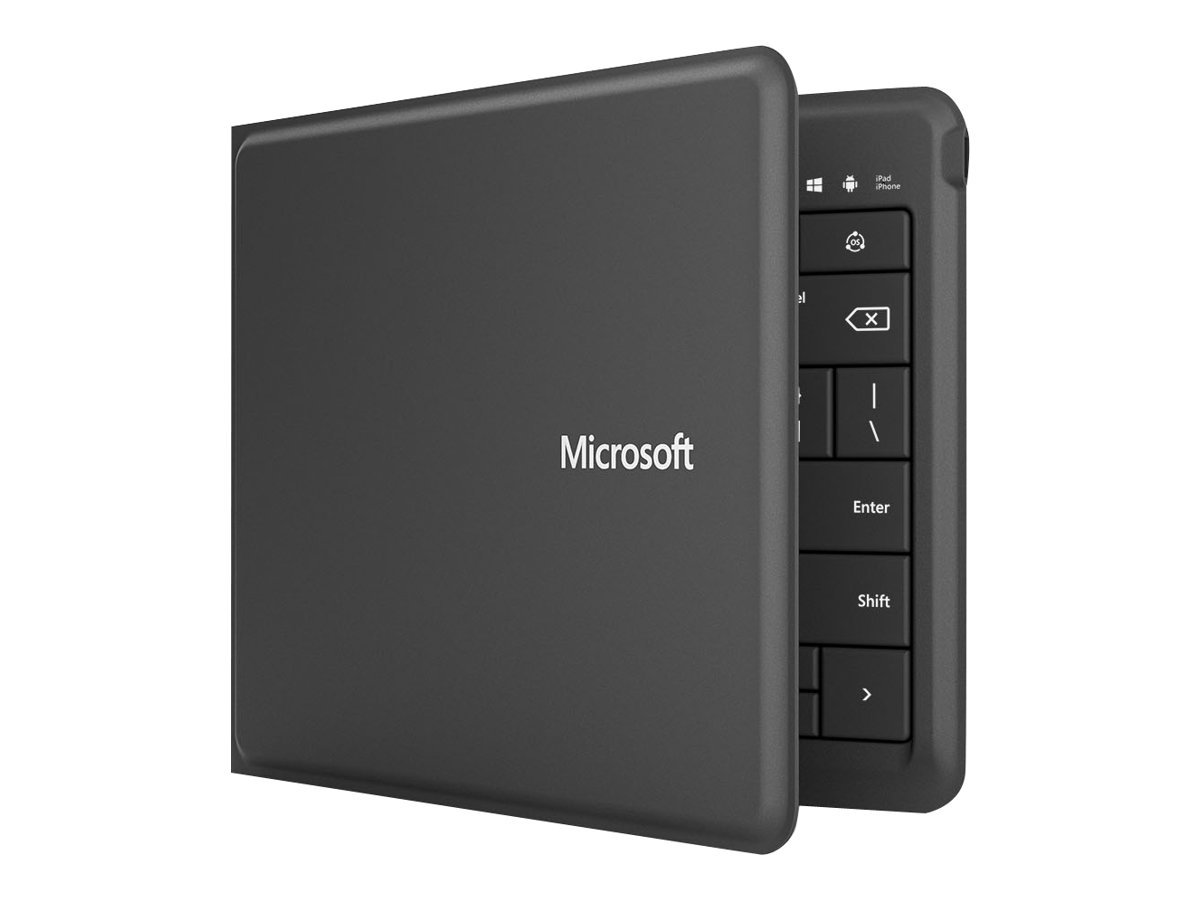 Microsoft Universal Foldable Keyboard for iPad, iPhone, Android Devices, and Windows Tablets by Microsoft