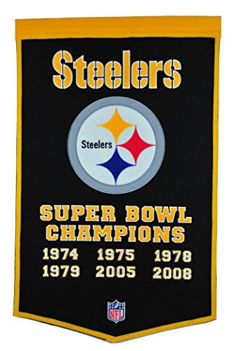 (NFL Pittsburg Steelers Dynasty Banner)
