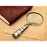Magnifier Magnifying Glass with a Handle Rich Display Set Office Desk Accessory Ideas
