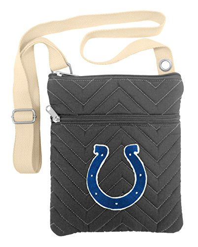 NFL Indianapolis Colts Chev-Stitch Cross -