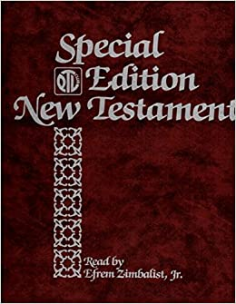 NEW Testament Read By Efrem Zimbalist, Jr 16 Cassettes in Plastic Case Special Ptl Club Edition: Amazon.com: Books