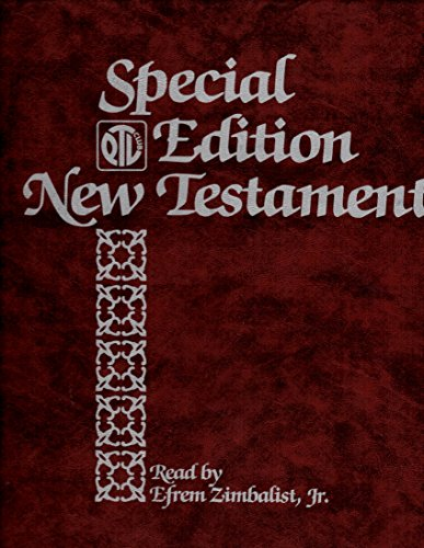 Ptl Club (NEW Testament Read By Efrem Zimbalist, Jr 16 Cassettes in Plastic Case Special Ptl Club Edition)