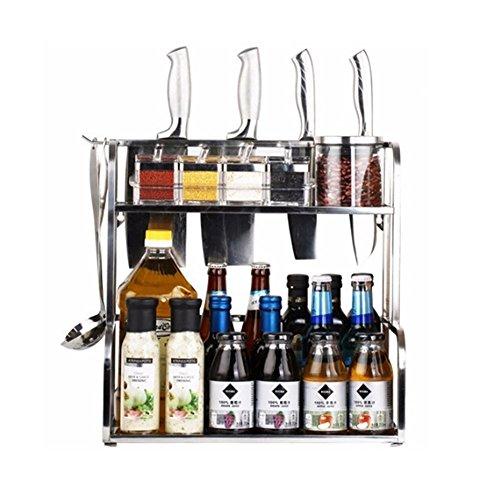 ANTFEES Multipurpose Organizer Stainless Seasoning