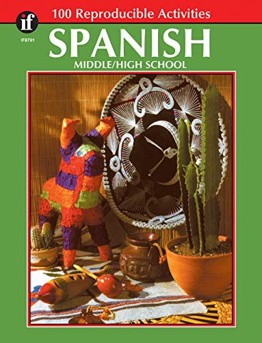 Spanish, Grades 6 - 12: Middle / High School (The 100+ SeriesTM)