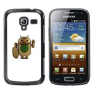 For Samsung Galaxy Ace 2 I8160 / Ace2 II XS7560M Case , Fighter Cure Artificial Cartoon - Diseño Patrón Teléfono Caso Cubierta Case Bumper Duro Protección Case Cover Funda