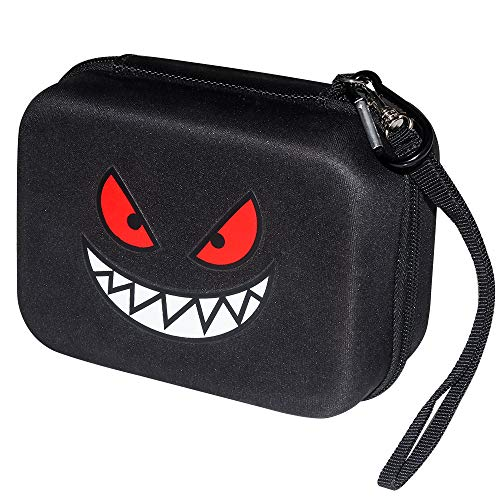 Brappo Carrying Case for Pokemon Cards with Hand Strap, Card Holder Fits up to 500 Cards