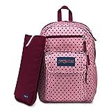 JanSport Digital Student Laptop Backpack - Vintage Pink Dot