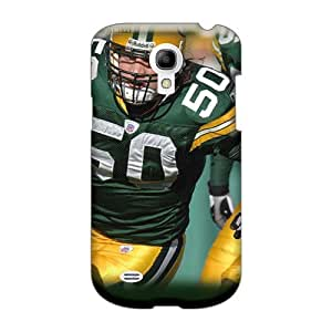 Excellent Hard Cell-phone Case For Samsung Galaxy S4 Mini With Provide Private Custom HD Green Bay Packers Series RobAmarook