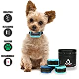 Ultrasonic-Vibration-Rechargeable Collar| Gentle Vibration Bark Collar| Rechargeable Bark Collar Small Dogs/Puppies| Pain Free Collar Your pet| Warning Indicator Beep Collar| Extra Small Dogs