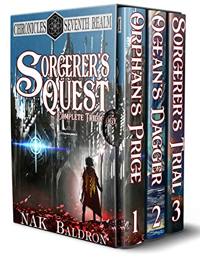Sorcerer's Quest (Complete Trilogy): An Epic Fantasy Completed Trilogy by [Baldron, NAK]