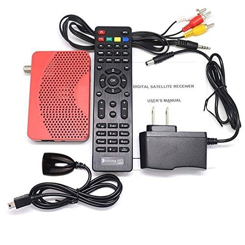 Mini DVB-S2 American Satellite Iptv Combo FTA Receiver TV BOX