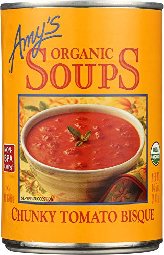 (NOT A CASE) Organic Soup Chunky Tomato - Organic Tomato Bisque Chunky