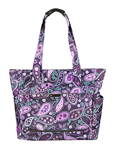 ricardo-beverly-hills-mar-vista-18-inch-shopper-purple-paisley-one-size