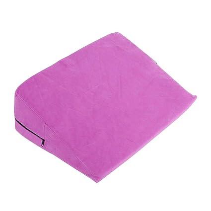 Parejas Triángulo sexual Diversión Almohada PVC almohada de ...