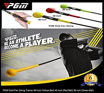 Gold Flex Swing Trainer by PGM ( 3 size available )