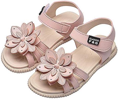 아동 샌들 여자 샌들 아동 신발 아기 꽃 아 아가씨 주니어 걷기 편한 비치 샌들 부드러운 여름 신발 작은 사이즈 큰 사이즈 / Kids Sandals Girls Sandals Kids Shoes Cute Flowers Girl Young Lady Junior Walkable Flip Flops Soft Summer Shoes S...