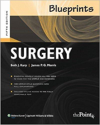 Blueprints surgery 5th edition 9780781788687 medicine health blueprints surgery 5th edition 9780781788687 medicine health science books amazon malvernweather Gallery