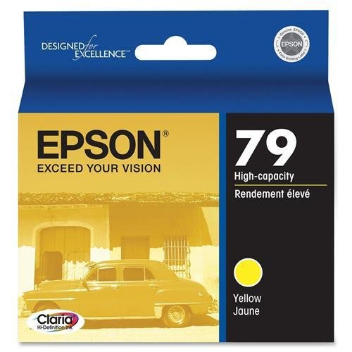 EPST079420 - Epson 79 High-Capacity Yellow Ink Cartridge
