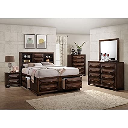Simmons Casegoods Anthem Collection 5 Piece Bedroom Set Queen/King Queen