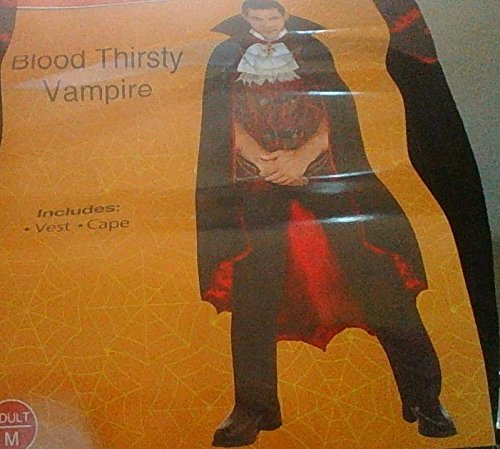 Spooky Village Blood Thirsty Vampire Costume