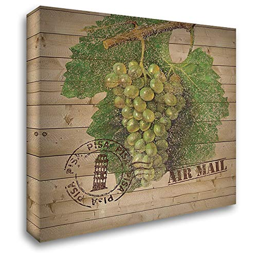 Grape Crate IV 28x28 Gallery Wrapped Stretched Canvas Art by Nobleworks -