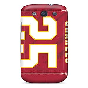 Samsung Galaxy S3 Koc11765qAlR Customized Fashion Kansas City Chiefs Pictures Anti-Scratch Cell-phone Hard Cover -LavernaCooney