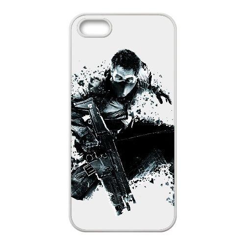 Syndicate 7 coque iPhone 5 5s cellulaire cas coque de téléphone cas blanche couverture de téléphone portable EEECBCAAN08929