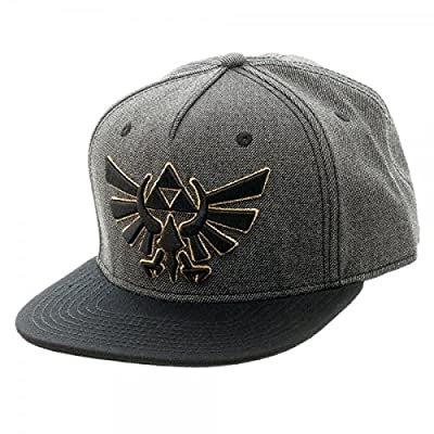 Bioworld Zelda Grey & Black Snapback from Bioworld Merchandising / Independent Sales