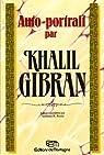Auto-portrait par Gibran