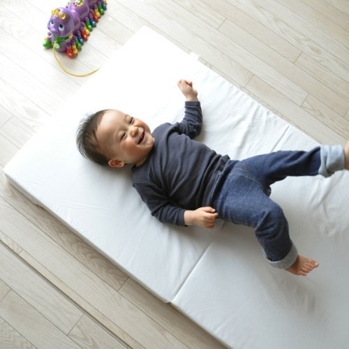 Made in Japan 24 x 35 in. Hana-Mini Shikibuton EMOOR Compact-Sized Baby Futon Mattress