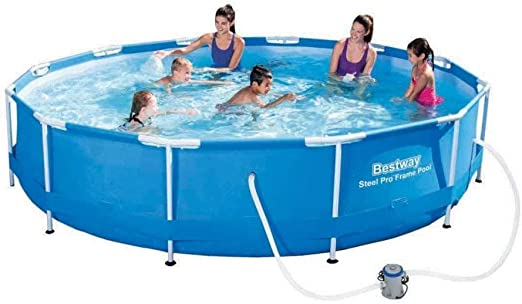 Bestway Piscina Steel Pro 366 x 76 cm, Color: Amazon.es: Jardín