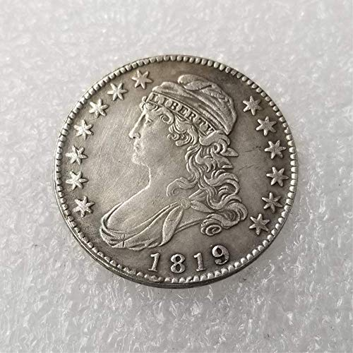 - OppoLing Best Morgan US Dollars-(1812-1836) USA 50 Cents Old Coin Collecting-USA Old Original Pre Morgan Dollar Best Product 1819
