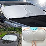 6Car Auto Front Rear Window Sun Shade Shield Protection Visor Windshield Cover