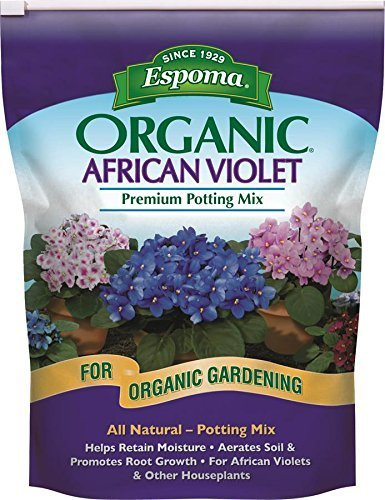 Espoma AV4, Organic African Violet Potting Mix, 4-Quart (2)