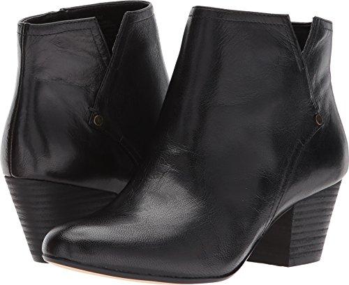 Nine West Women's Hadriel Black Leather 8.5 M - Booties Nine West
