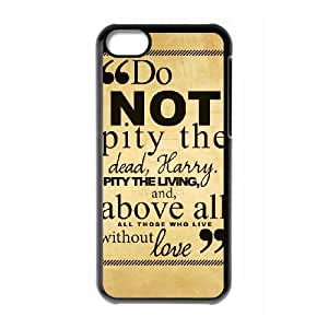 iPhone 5c Cell Phone Case Black Harry Potter quotes 006 KYS1141990KSL