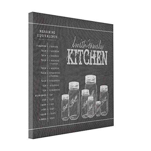 wonbye Print Canvas Photos Chalkboard Mason Jars Kitchen