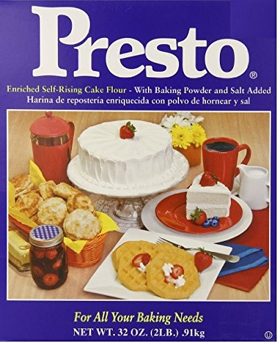Amazon.com : Presto Self Rising Cake Flour, 32-Ounce Box : Grocery & Gourmet Food