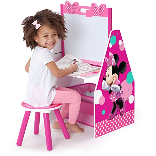 Delta Children Activity Center With Easel Desk Stool And