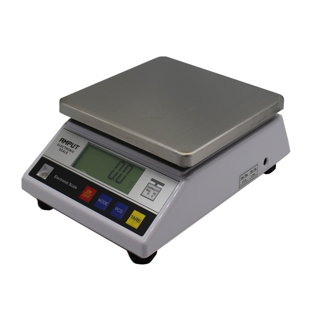 High Precision 10kg x0.1g Digital Accurate Balance with Counting Function Lab Scale by top-tool