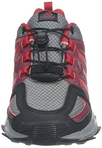 Adidas Kinder Sportschuh trailkid 2 SL K M25497, grau/rot, UK 4.5